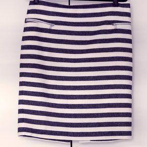 Ann Taylor skirt cotton/linen blend